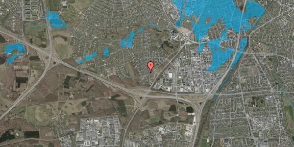 Oversvømmelsesrisiko fra vandløb på Ejby Mosevej 9A, 2600 Glostrup