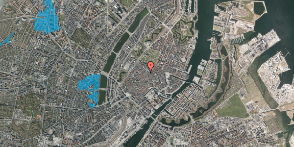 Oversvømmelsesrisiko fra vandløb på Købmagergade 46C, 2. , 1150 København K