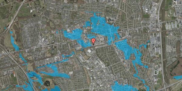 Oversvømmelsesrisiko fra vandløb på Sydvestvej 111C, 2600 Glostrup