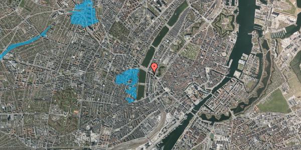 Oversvømmelsesrisiko fra vandløb på Nyropsgade 3, 2. , 1602 København V