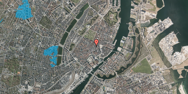 Oversvømmelsesrisiko fra vandløb på Antonigade 9A, 1106 København K