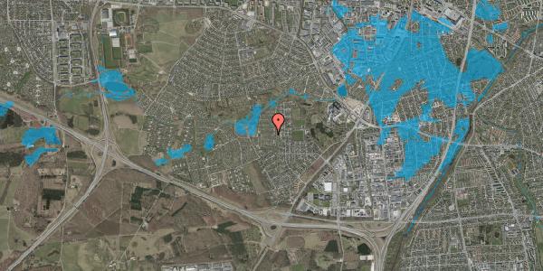 Oversvømmelsesrisiko fra vandløb på Vængedalen 407, 2600 Glostrup