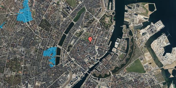 Oversvømmelsesrisiko fra vandløb på Møntergade 19, st. , 1116 København K