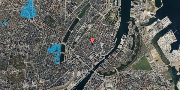 Oversvømmelsesrisiko fra vandløb på Løvstræde 1, 1152 København K