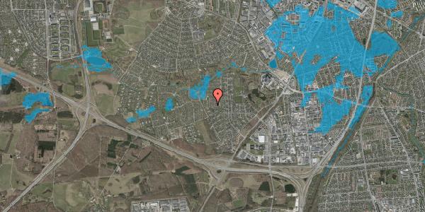 Oversvømmelsesrisiko fra vandløb på Vængedalen 218, 2600 Glostrup