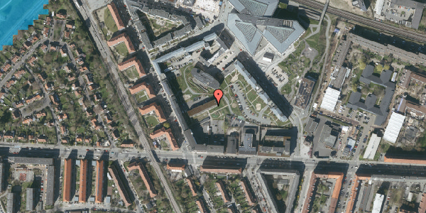 Oversvømmelsesrisiko fra vandløb på Flintholm Alle 4C, 2000 Frederiksberg