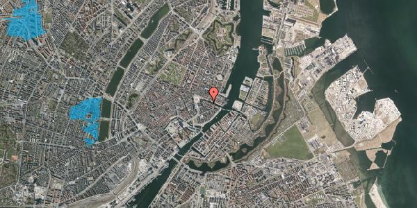 Oversvømmelsesrisiko fra vandløb på Nyhavn 10A, 1051 København K