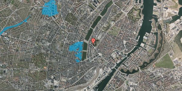 Oversvømmelsesrisiko fra vandløb på Gyldenløvesgade 13, 1600 København V