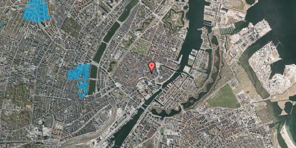 Oversvømmelsesrisiko fra vandløb på Nikolaj Plads 12, 1067 København K