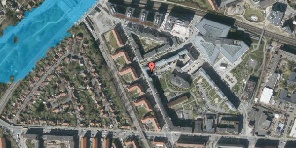 Oversvømmelsesrisiko fra vandløb på Preben Kaas' Vænge 5M, 2000 Frederiksberg