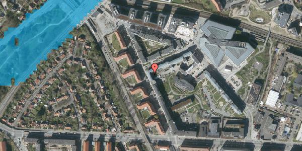 Oversvømmelsesrisiko fra vandløb på Preben Kaas' Vænge 5N, 2000 Frederiksberg