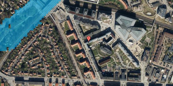 Oversvømmelsesrisiko fra vandløb på Preben Kaas' Vænge 5R, 2. 206, 2000 Frederiksberg