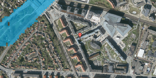 Oversvømmelsesrisiko fra vandløb på Preben Kaas' Vænge 5R, 3. 311, 2000 Frederiksberg