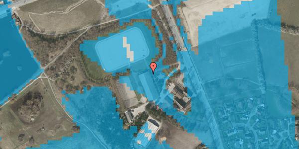 Oversvømmelsesrisiko fra vandløb på Vejlegårdsvej 125, 2625 Vallensbæk