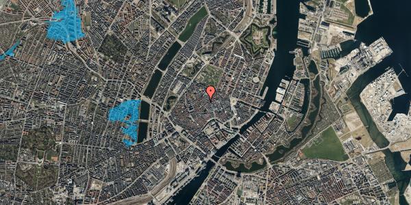 Oversvømmelsesrisiko fra vandløb på Løvstræde 2, 1152 København K
