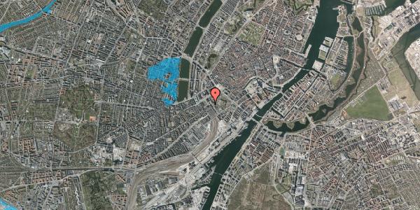 Oversvømmelsesrisiko fra vandløb på Bernstorffsgade 14, 1. , 1577 København V