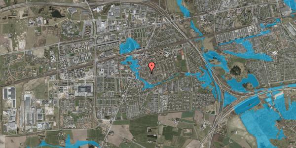 Oversvømmelsesrisiko fra vandløb på Elme Alle 42C, 2630 Taastrup
