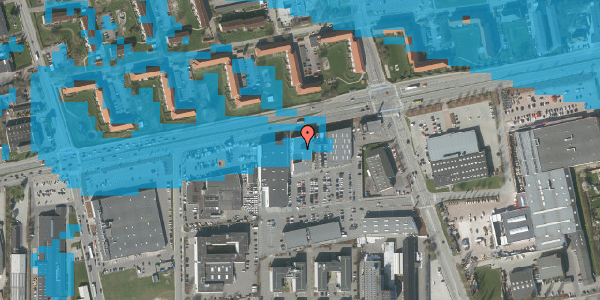 Oversvømmelsesrisiko fra vandløb på Hermods Allé 6C, st. , 2600 Glostrup