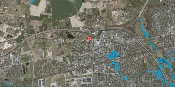 Oversvømmelsesrisiko fra vandløb på Helgeshøj Alle 53, 2630 Taastrup