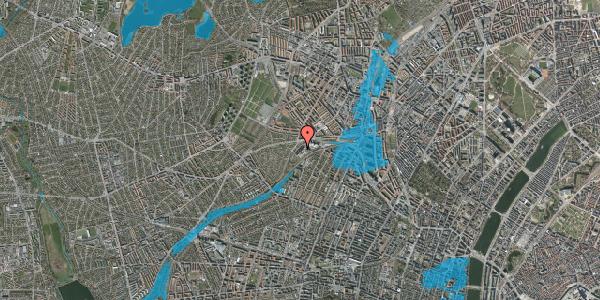 Oversvømmelsesrisiko fra vandløb på Jordbærvej 71, 2400 København NV
