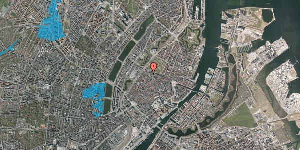 Oversvømmelsesrisiko fra vandløb på Hauser Plads 20, 4. , 1127 København K