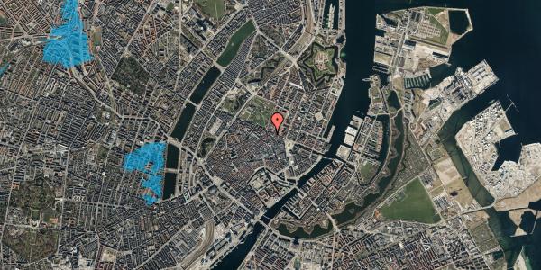 Oversvømmelsesrisiko fra vandløb på Ny Østergade 30, 1101 København K