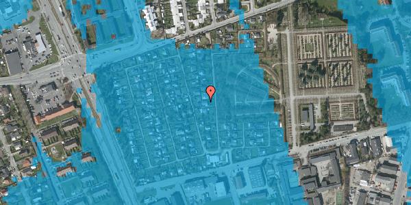 Oversvømmelsesrisiko fra vandløb på Hf. Svarø 102, 2650 Hvidovre