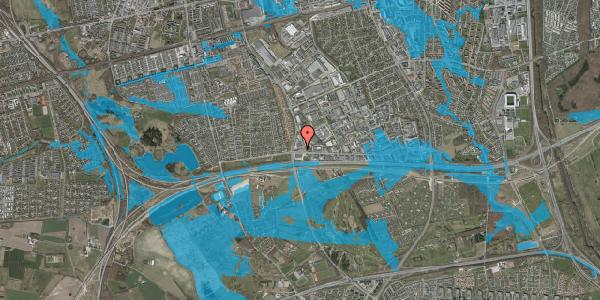 Oversvømmelsesrisiko fra vandløb på Jydekrogen 1D, 2625 Vallensbæk
