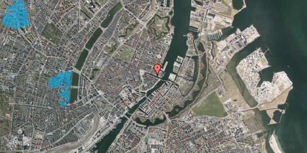 Oversvømmelsesrisiko fra vandløb på Nyhavn 22, 3. , 1051 København K