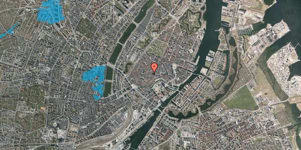 Oversvømmelsesrisiko fra vandløb på Klosterstræde 1, st. , 1157 København K