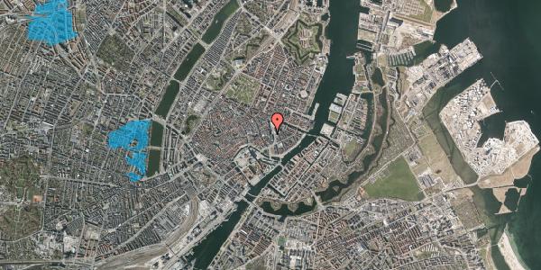 Oversvømmelsesrisiko fra vandløb på Kongens Nytorv 11A, 1050 København K
