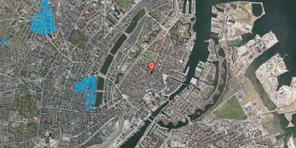 Oversvømmelsesrisiko fra vandløb på Møntergade 1, 3. , 1116 København K