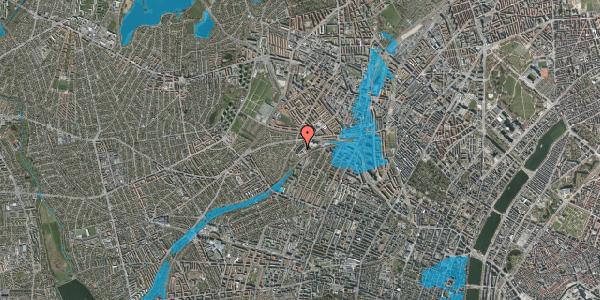 Oversvømmelsesrisiko fra vandløb på Jordbærvej 77, 2400 København NV