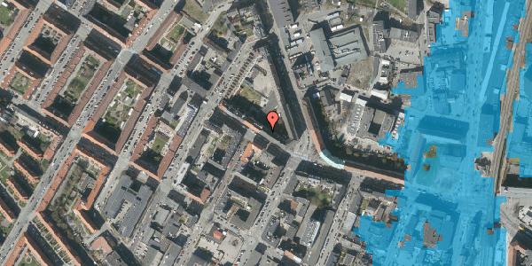 Oversvømmelsesrisiko fra vandløb på Frederikssundsvej 32, 2400 København NV