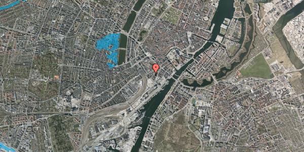 Oversvømmelsesrisiko fra vandløb på Stoltenbergsgade 10, 2. , 1576 København V