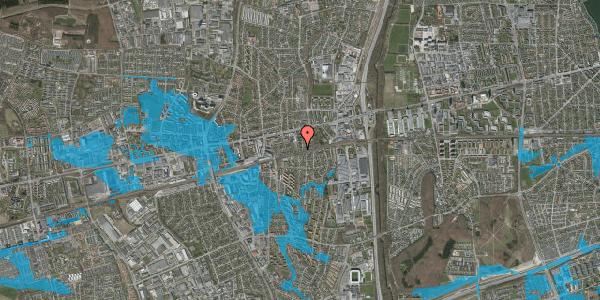 Oversvømmelsesrisiko fra vandløb på Florasvej 35, 2600 Glostrup