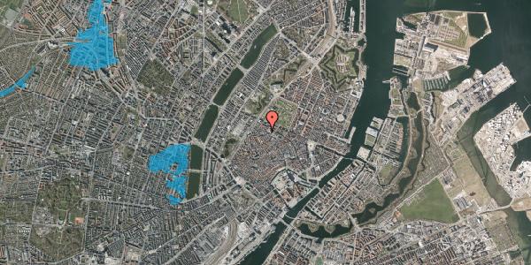 Oversvømmelsesrisiko fra vandløb på Hauser Plads 1, st. , 1127 København K
