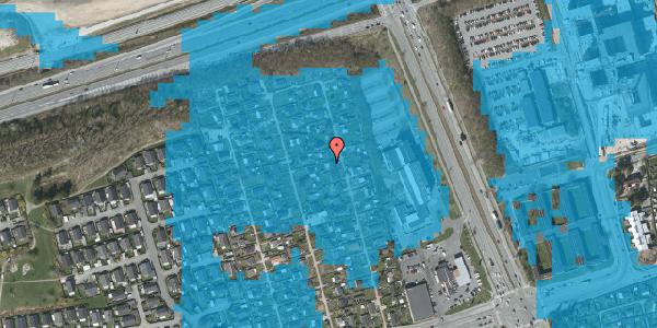 Oversvømmelsesrisiko fra vandløb på Hf. Kettehøj 100, 2650 Hvidovre