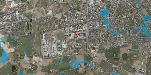 Oversvømmelsesrisiko fra vandløb på Oldenburg Alle 3, 2. , 2630 Taastrup