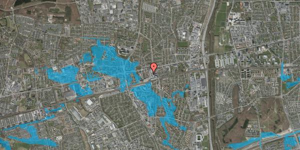 Oversvømmelsesrisiko fra vandløb på Glostrup Shoppingcenter 11, st. , 2600 Glostrup