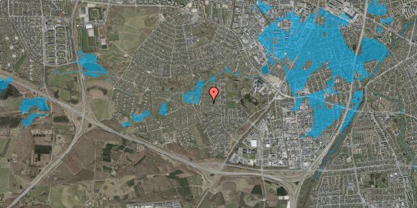 Oversvømmelsesrisiko fra vandløb på Vængedalen 413, 2600 Glostrup