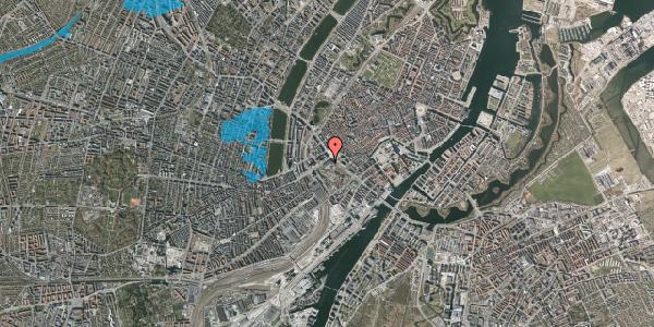 Oversvømmelsesrisiko fra vandløb på Vesterbrogade 1D, 1620 København V
