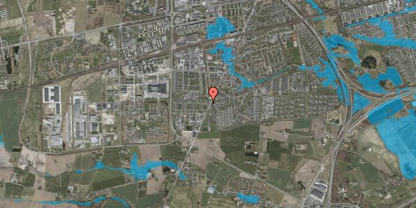Oversvømmelsesrisiko fra vandløb på Taastrup Hovedgade 156G, 1. , 2630 Taastrup