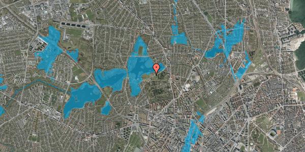 Oversvømmelsesrisiko fra vandløb på Rådvadsvej 67, 2400 København NV