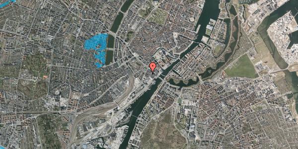 Oversvømmelsesrisiko fra vandløb på Anker Heegaards Gade 7C, 1. th, 1572 København V