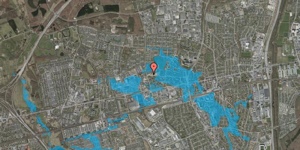 Oversvømmelsesrisiko fra vandløb på Stadionvej 90, 2600 Glostrup