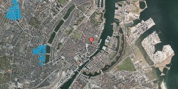 Oversvømmelsesrisiko fra vandløb på Kongens Nytorv 2, 1050 København K