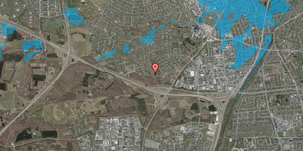 Oversvømmelsesrisiko fra vandløb på Karsevænget 67, 2600 Glostrup