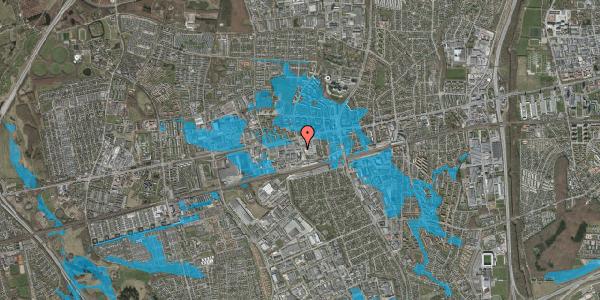 Oversvømmelsesrisiko fra vandløb på Hermods Allé 1, 2600 Glostrup