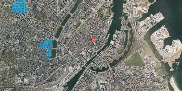 Oversvømmelsesrisiko fra vandløb på Bremerholm 29, st. , 1069 København K